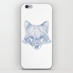 Boho fox iPhone Skin