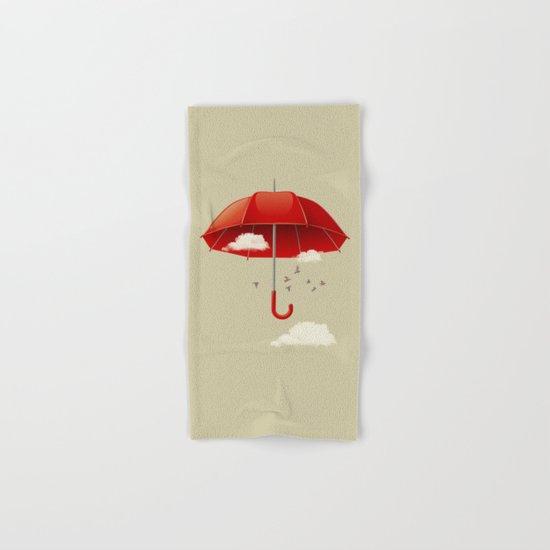 Umbrella Hand & Bath Towel