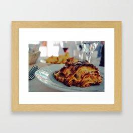 Lasagna from Italy Framed Art Print