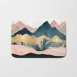 Plush Peaks Bath Mat
