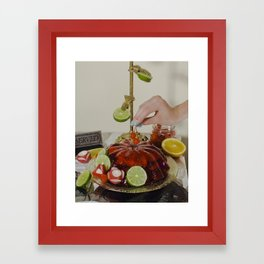 You'll Eat It And You'll Like It- Cherries Framed Art Print
