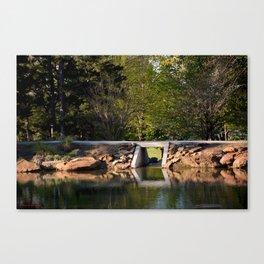 Muscogee (Creek) Nation - Honor Heights Park Azalea Festival, No. 4 of 12 Canvas Print