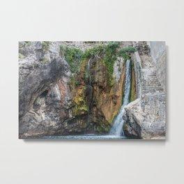 Natural Amalfi Springs Metal Print