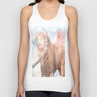 sphynx Tank Tops featuring sphynx by Ganech joe