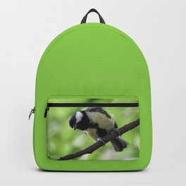 Bird nature photo Backpack