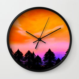 Somewhere In Your Dreams Wall Clock
