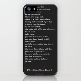 The Laughing Heart II iPhone Case