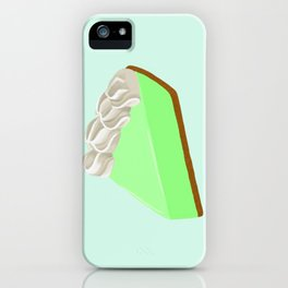 Piece of Key Lime Pie iPhone Case