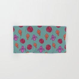 Vagina flowers Hand & Bath Towel