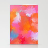 blush Stationery Cards featuring blush by Lasse Egholm