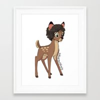 little prince Framed Art Prints featuring Little Prince by Ashley R. Guillory