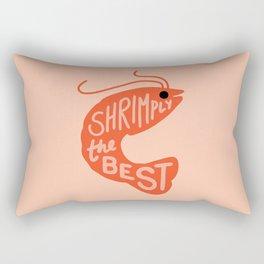 Shrimply the Best Rectangular Pillow