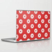 poker Laptop & iPad Skins featuring Poker Dots by Leo Canham
