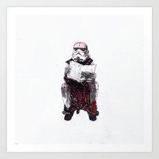 Stormpooper Art Print