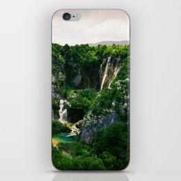 veliki slap waterfall 1 plitvice lakes national park croatia blockbuster iPhone Skin