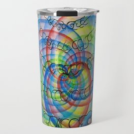 underpainting for spiral Travel Mug
