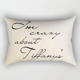 Breakfast at Tiffany's v2 Rectangular Pillow
