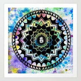 EXIST Mandala 1 Art Print