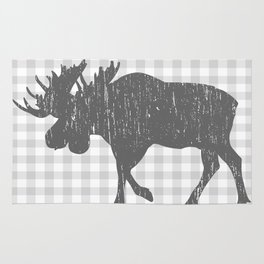 Rustic Moose Rug