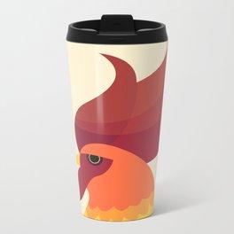 Cock Metal Travel Mug