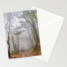 Into the dream forest. Garajonay National Park. Canary Islands. Stationery Cards
