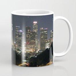 Downtown Los Angeles city skyline Coffee Mug