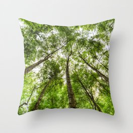 The Ancient Tree Canopy Throw Pillow