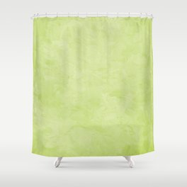 Impressions in Hues of Mint Green Home Decor Shower Curtain