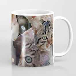 Kitty Collage Coffee Mug