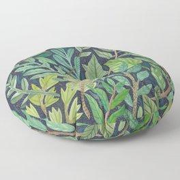To The Forest Floor Floor Pillow