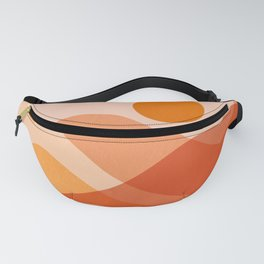 Abstraction_Mountains_Beach_Minimalism_001 Fanny Pack