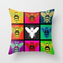 Hive 9 Throw Pillow