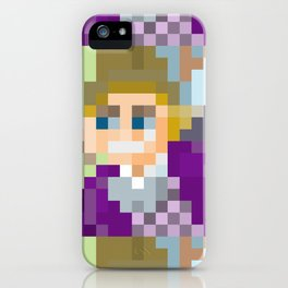 Gene Wilder Pixel Art iPhone Case