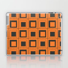 Orange Squares Laptop & iPad Skin