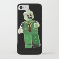 zombie iPhone & iPod Cases featuring Zombie by Emma Harckham