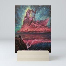 Nebula Shore Mini Art Print