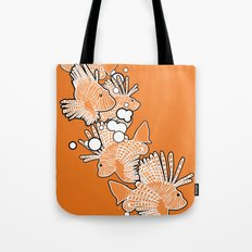 Scorpio fish Tote Bag