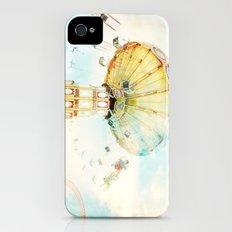 Step back into fun iPhone (4, 4s) Slim Case
