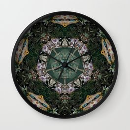 Multifacetted Kaleidoscope 2 Wall Clock