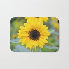 Small Sunflower Bath Mat