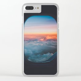Take my mind away, take me to the sky Clear iPhone Case
