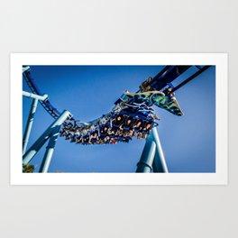 Sky Dive Art Print