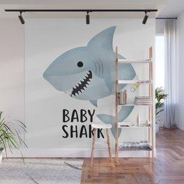 Baby Shark Wall Mural