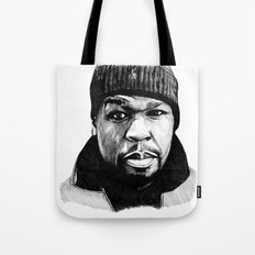 50 Cent Pen Drawing Tote Bag