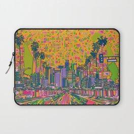 los angeles city skyline Laptop Sleeve
