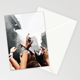 MIDDLE FINGERS IN THE AIR Stationery Cards