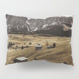 seiser alm landscape Pillow Sham