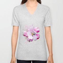 Blossom Flower Unisex V-Neck