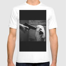 HR part. Mens Fitted Tee White SMALL