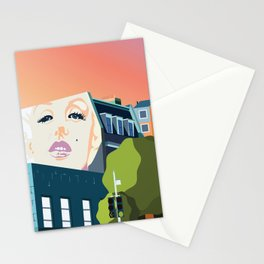 Marilyn Mural  Stationery Cards